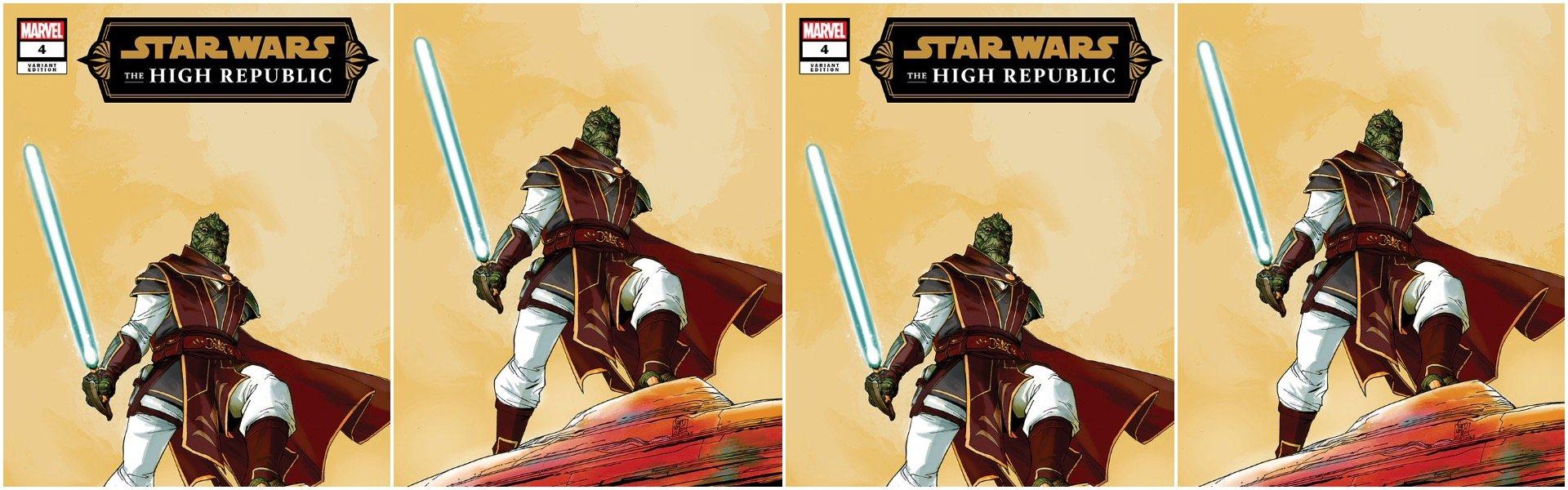 Star Wars High Republic #4 Giuseppe Camuncoli Variants