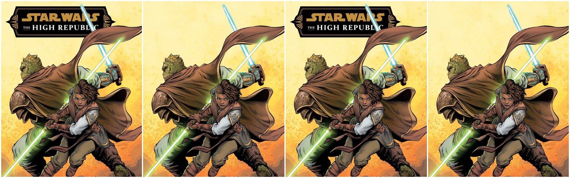 Star Wars High Republic #3 Minkyu Yung Variants