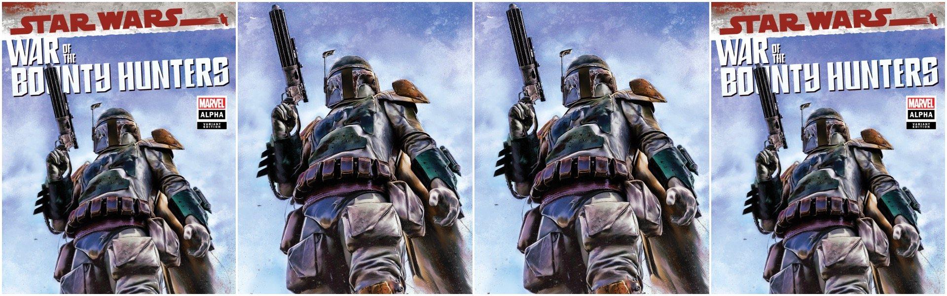 Star Wars War of the Bounty Hunters Alpha #1 Marco Turini Variants