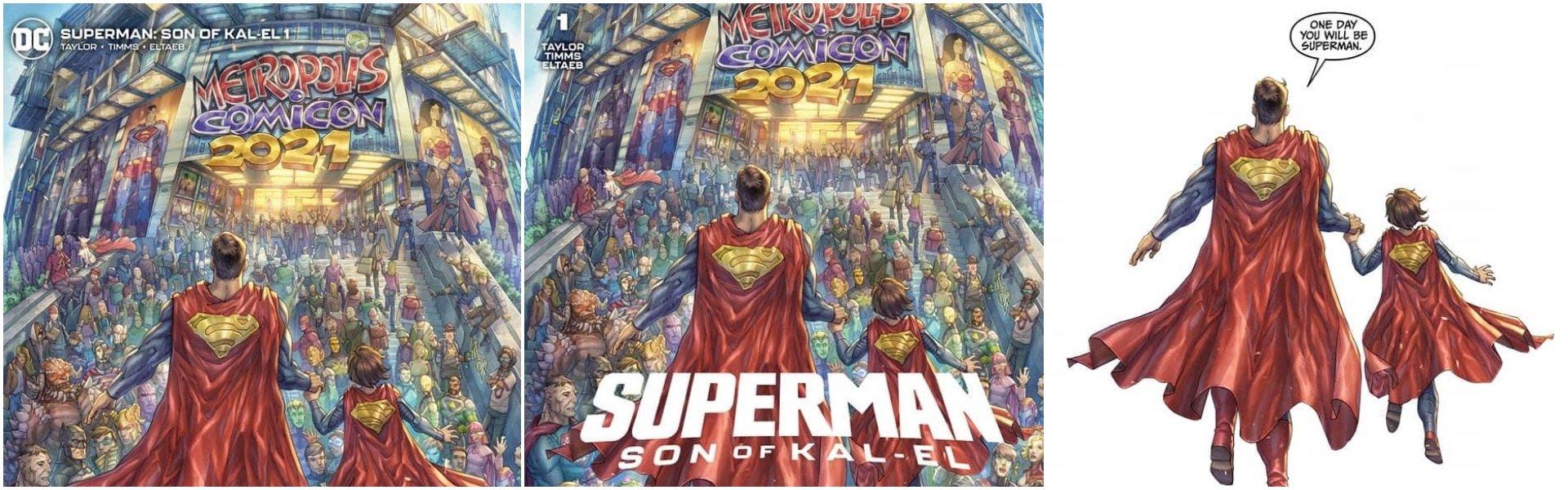 Superman Son of Kal-El #1 Alan Quah Variants