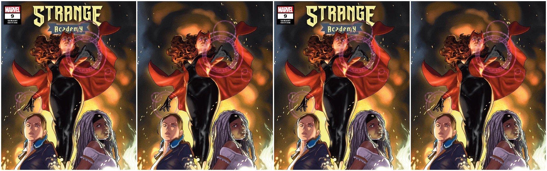 Strange Academy #9 Taurin Clarke Variants