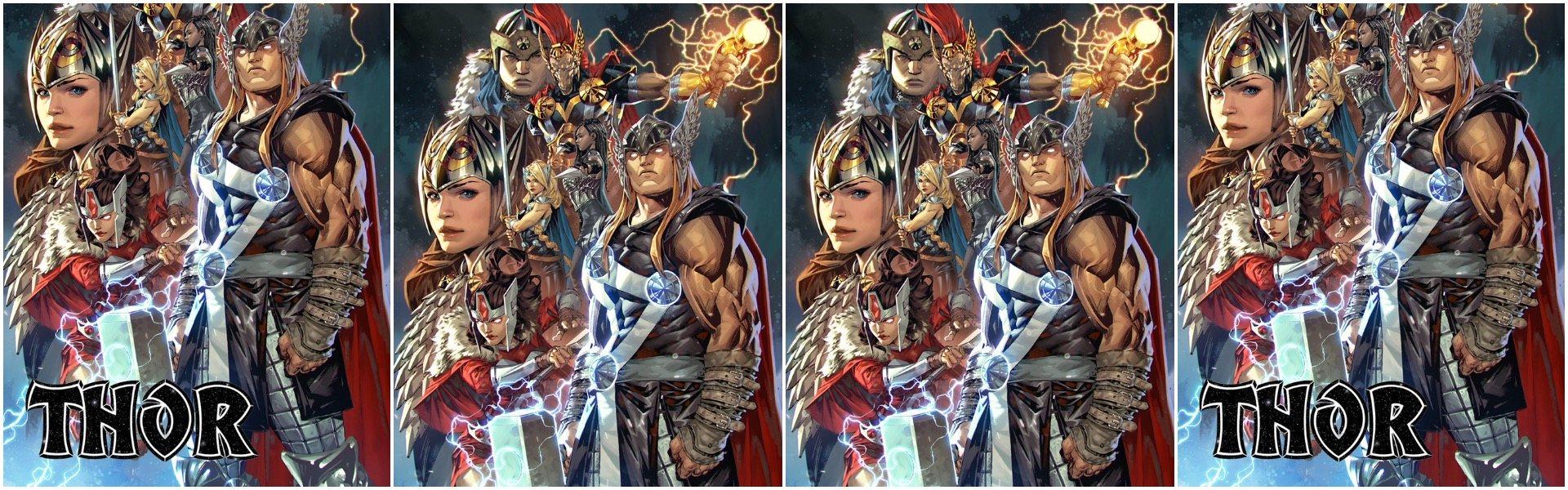 Thor #15 Kael Ngu Variants