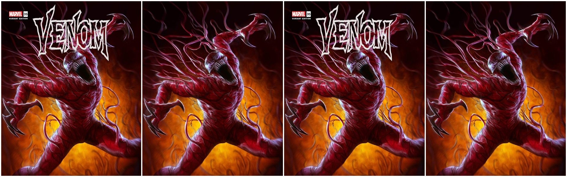 Venom #35 200th Issue Dave Rapoza Variants