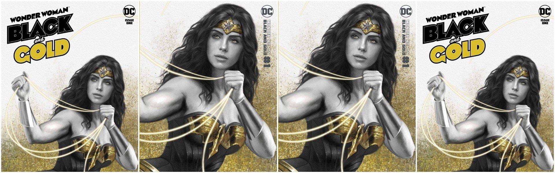 Wonder Woman Black & Gold #1 Carla Cohen Exclusives