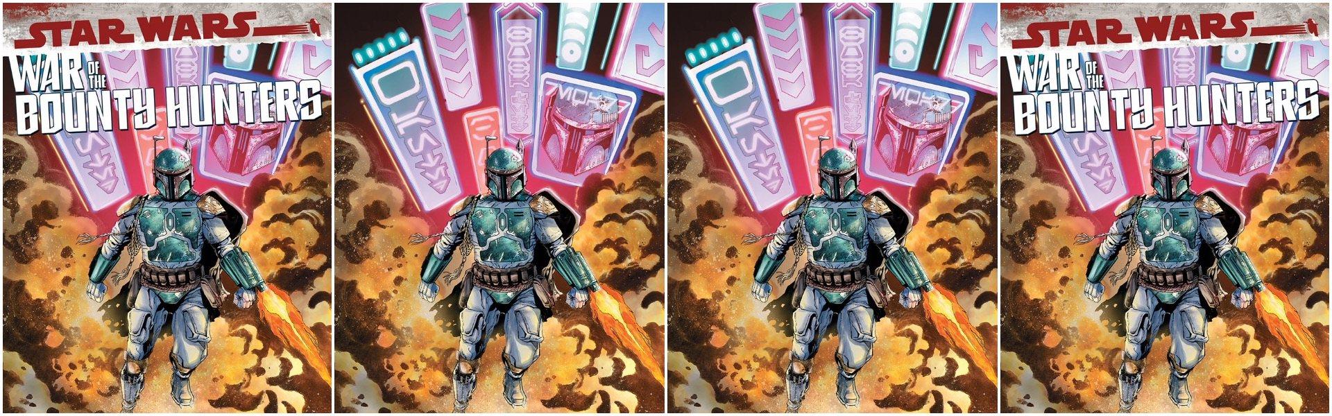 Star Wars War of the Bounty Hunters #1 Jan Duursema Variants