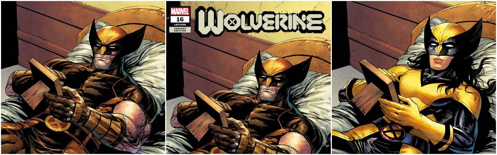 Wolverine #16 Tyler Kirkham Variants