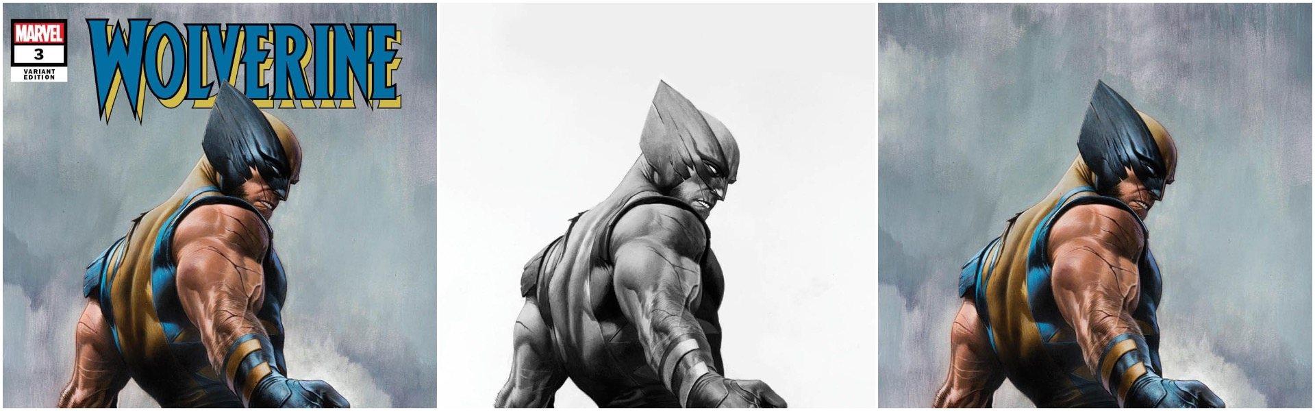 Wolverine #3 Adi Granov Variants