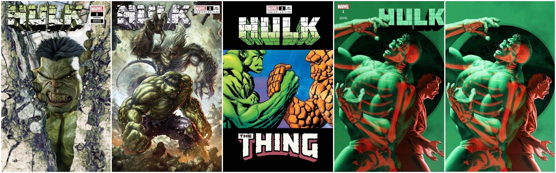 Hulk #1 Exclusives