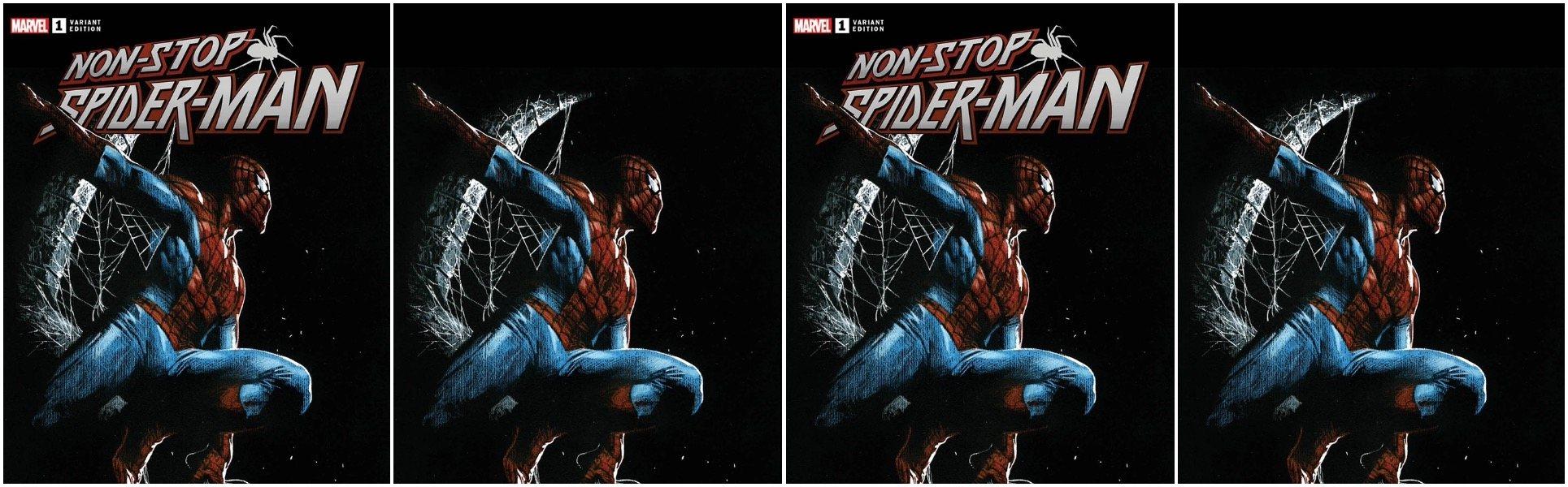 Non-Stop Spider-Man #1 Gabriele Dell'Otto Variants