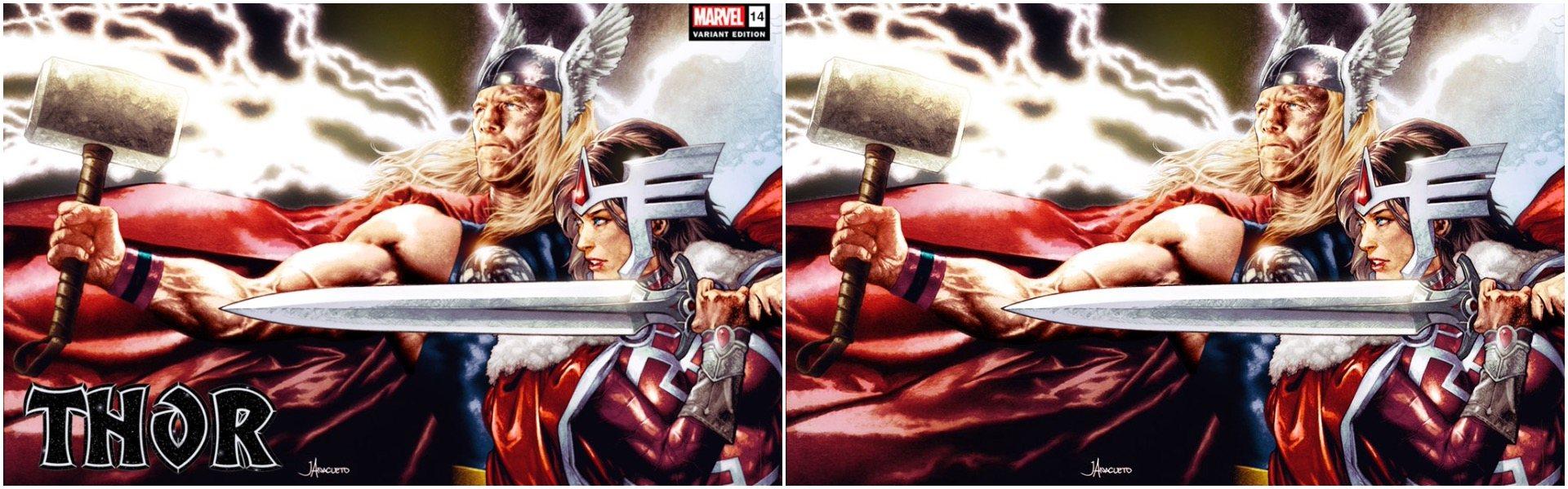 Thor #14 Jay Anacleto Wraparound Variants
