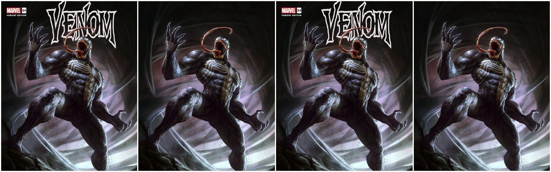 Venom #34 Dave Rapoza Variants