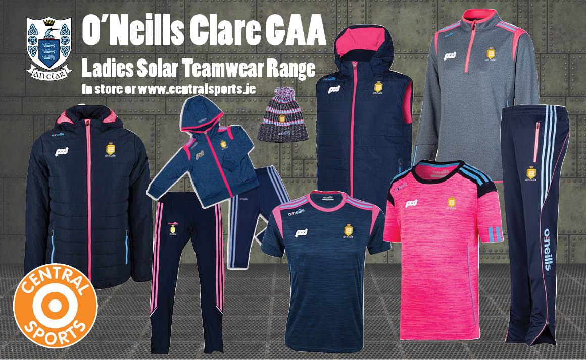 Ladies O'Neills Clare Solar Range
