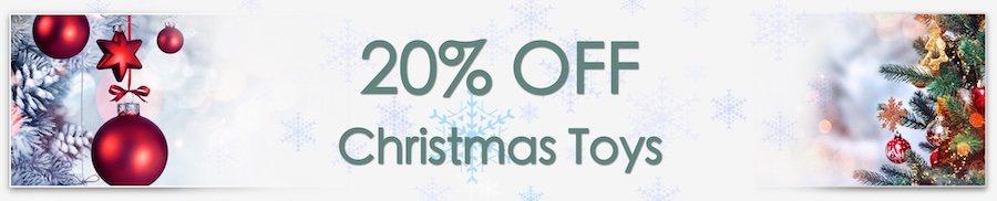 Christmas Decorations Sale. Clarkes of Bailieborough Sale. 20% off christmas toys