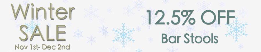 clarkes of bailieborough winter sale 12.5% off bar stools