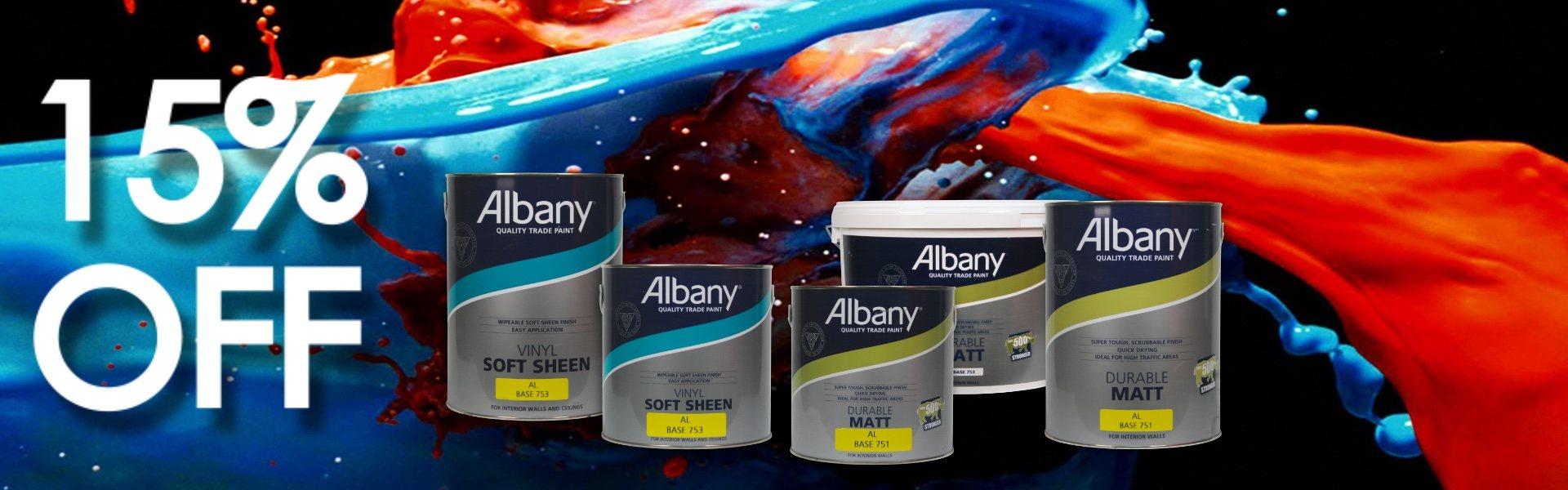 Albany Paint SALE