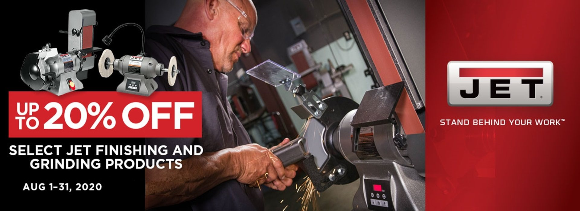 Jet Grinding & Finishing Sale August 2020