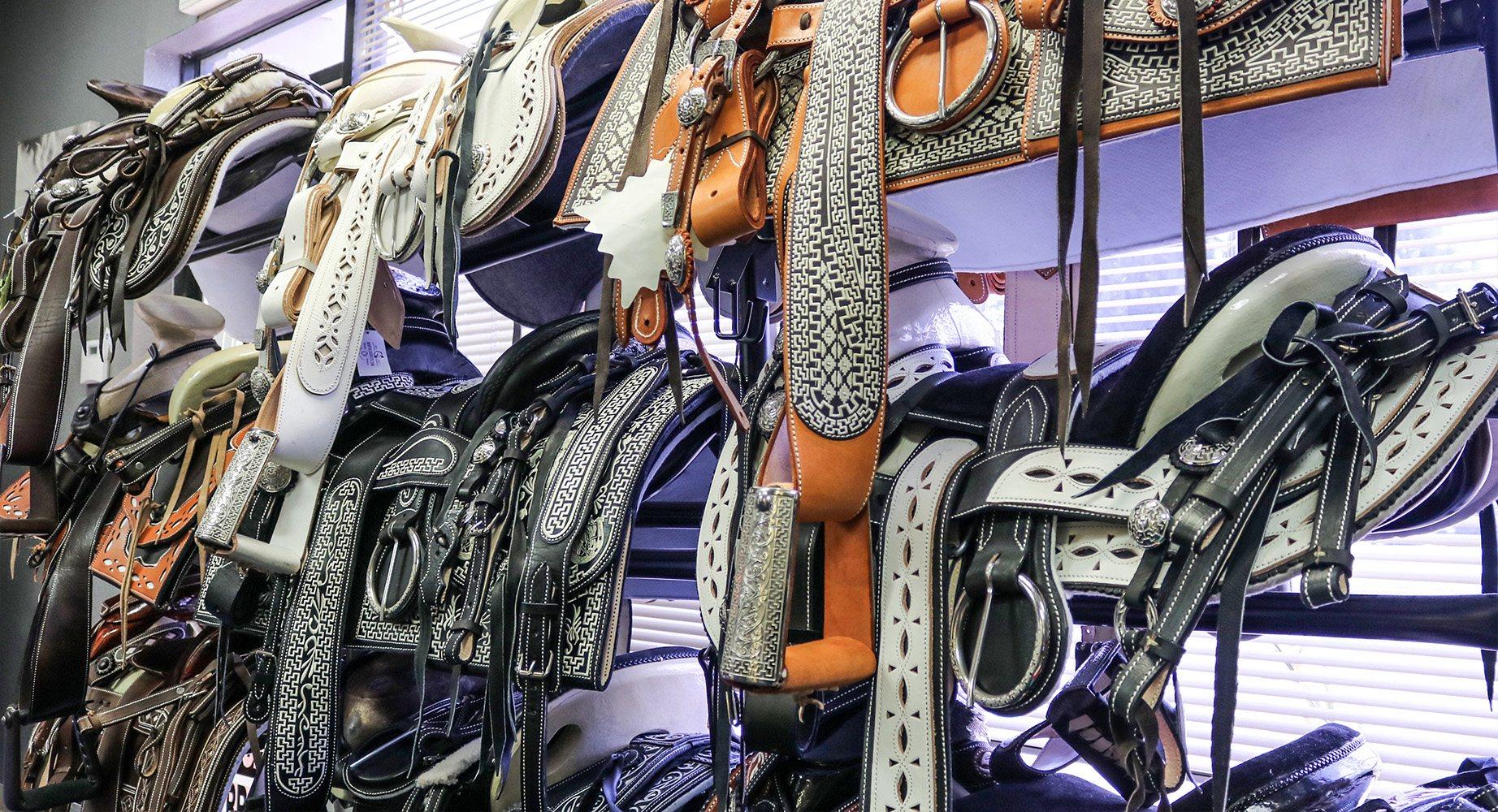 Charro Saddles & Tack