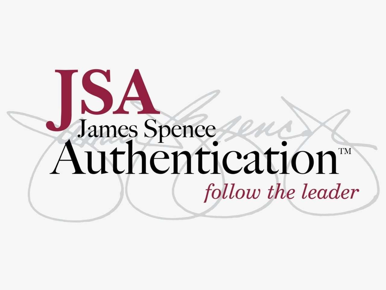 JSA IN-STORE AUTOGRAPH AUTHENTICATION