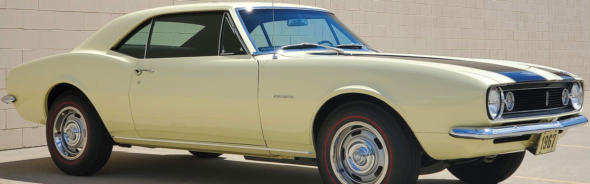1967 Camaro Z/28 Butternut Yellow