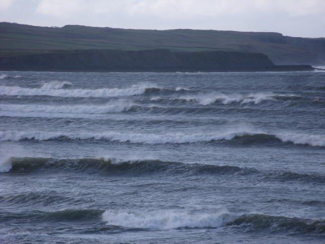 December 4, 2020 surf at Cornish point, Lahinch