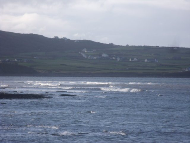 Small waves at southern point