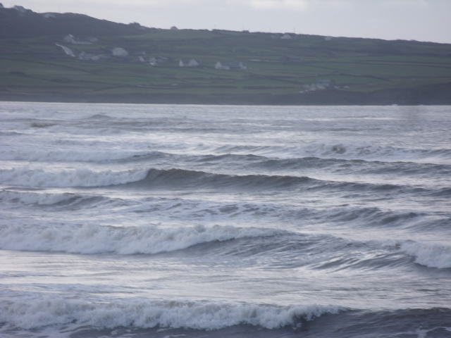 Waves at southern end of Lahinch