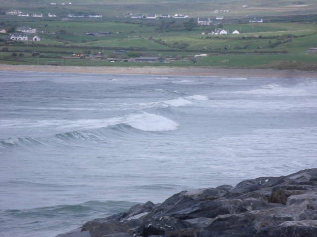 2 foot waves on the main beach area