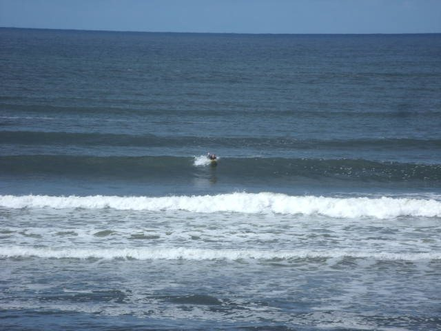 2 foot reasonably clean waves in front of the shop