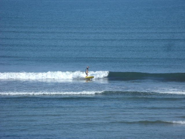 1 foot glassy waves in front of the shop
