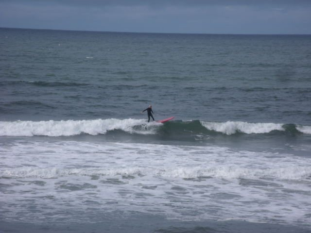 Nice 2 foot wave in front of the shop