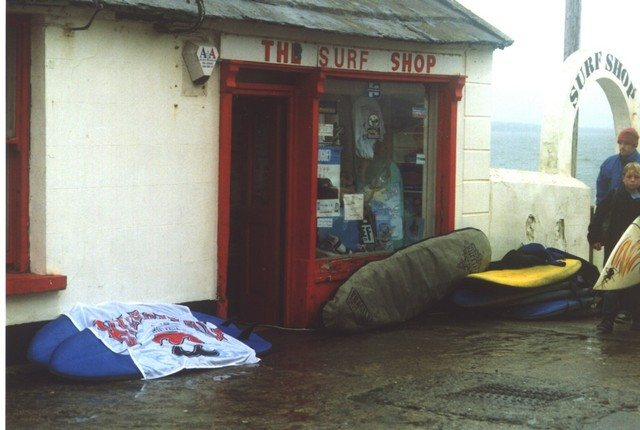 The original Lahinch Surf Shop Building