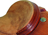 """2"""" Leather Cantle"""