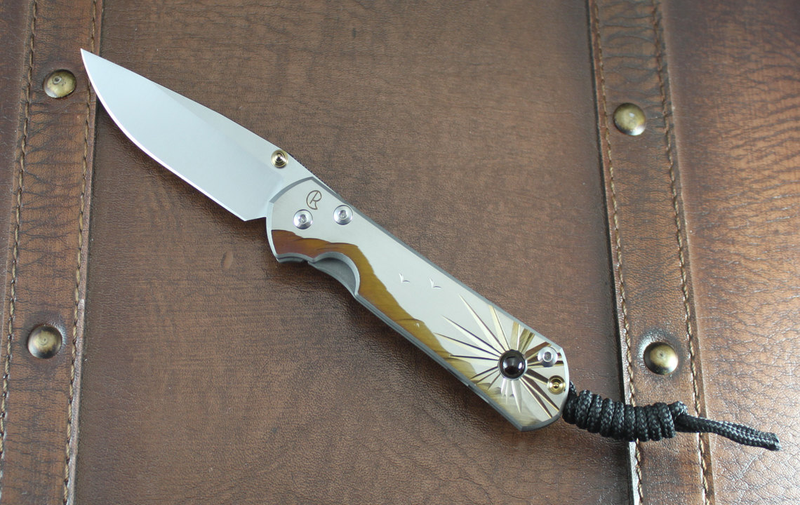 Chris Reeve Knives Small Sebenza 21 Morning Sun