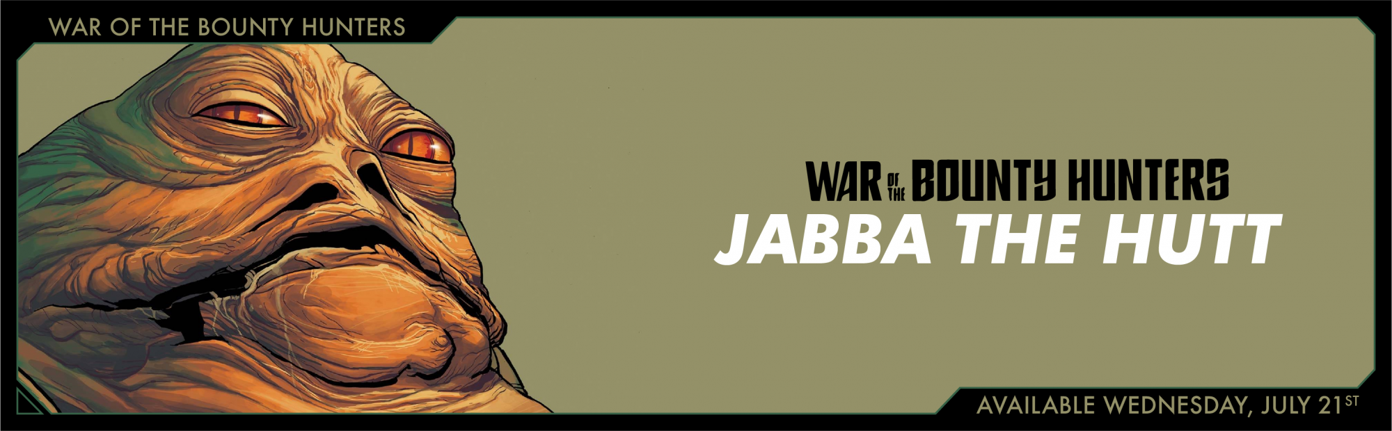 Star Wars War of the Bounty Hunters Jabba the Hut #1