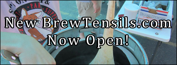 Brand New BrewTensils.com Webstore!