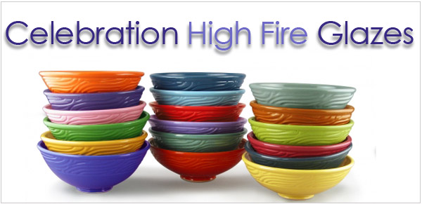 AMACO Celebration High Fire Glazes