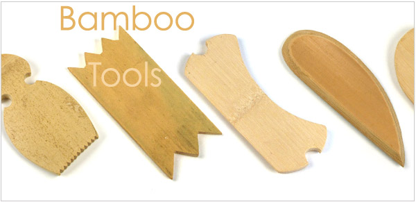 bamboo tools available for sale at The Ceramic Shop