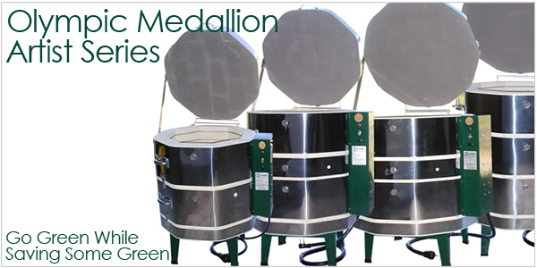 Olympic Medallion Artist discount electric kilns for ceramics, glass and more