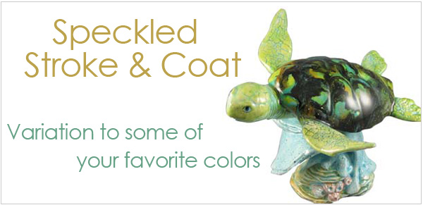 Mayco Speckled Stroke & Coat Glazes