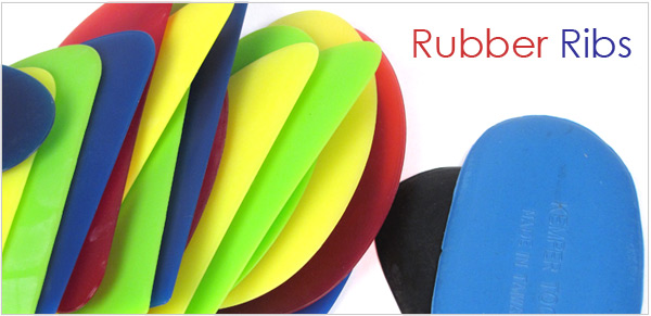 rubber ribs for throwing
