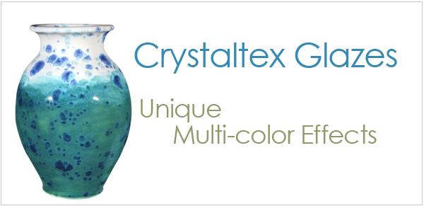 AMACO Crystaltex Glazes