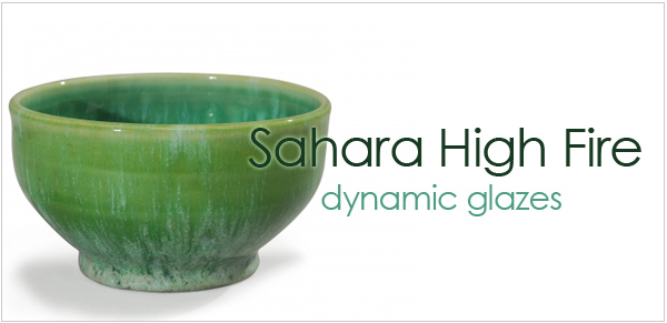 AMACO Sahara Glazes