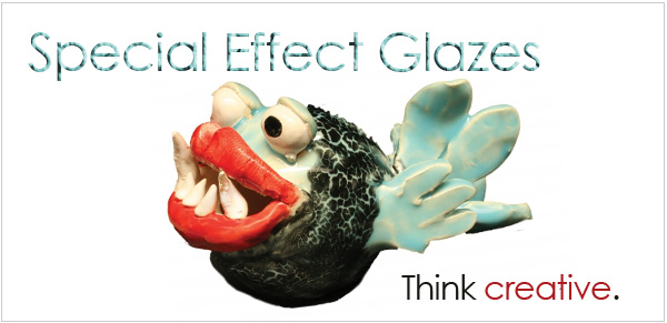 AMACO Special Effects Glazes