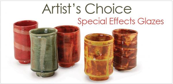 AMACO Artist's Choice Glazes