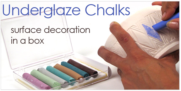 underglaze chalk crayons for ceramics