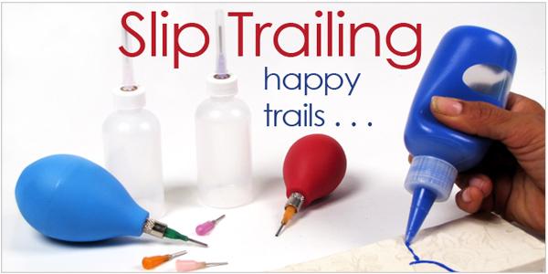 Slip Trailing Underglazes clay