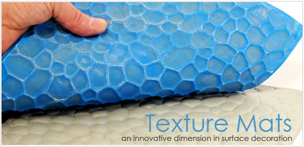 rubber and silicone texture mats avilable for sale for ceramic surface decoration