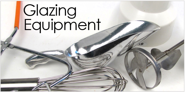 Glazing equipment and supplies for your ceramics and pottery glaze room