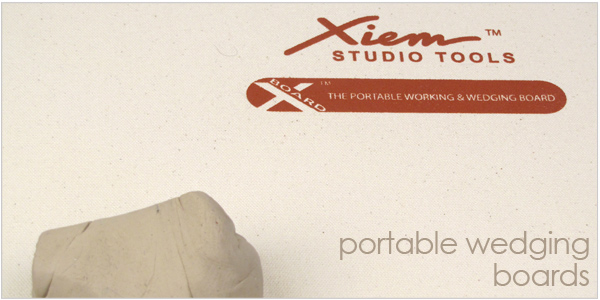Xiem Pottery and ceramic supplies Xboard canvas work boards