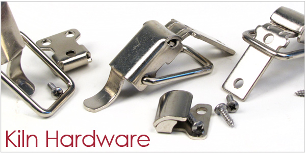 kiln hardware, kiln clasp, kiln hinge, kiln hook, hinge replacement, kiln hinge replacement, kiln lid latch